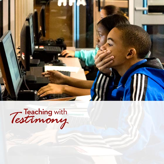 Teaching with Testimony