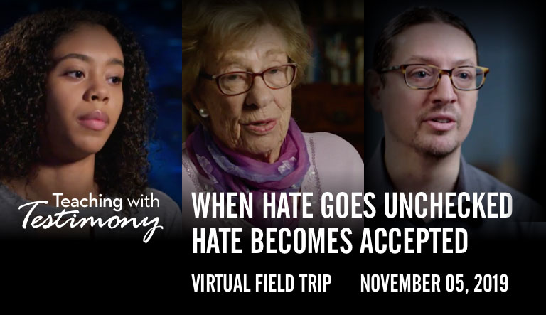 USC Shoah Foundation and Discovery Education Bring the Power of Story to Life in 'Our Stories are Stronger Than Hate' Virtual Field Trip