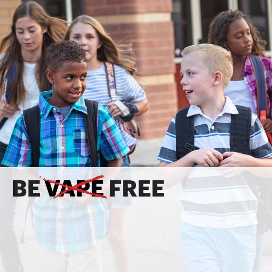 Be Vape Free