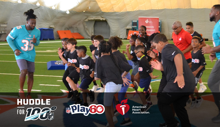 The American Heart Association, the National Football League, and Discovery Education team up to take students on a Virtual Field Trip