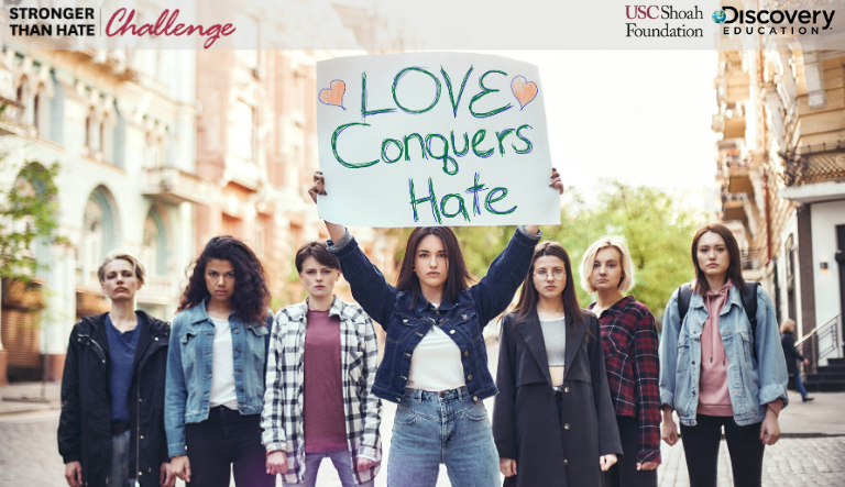 USC Shoah Foundation and Discovery Education Invite Students to Promote Empathy, Understanding, and Respect Through the 'Stronger Than Hate Challenge'