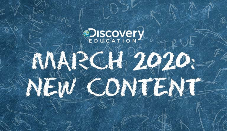 New Content From Discovery Education Educates Students on the Coronavirus, Encourages Civic Participation, Unlocks the Periodic Table, and More