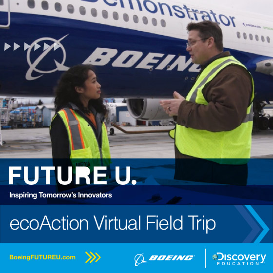 Boeing FUTURE U ecoAction