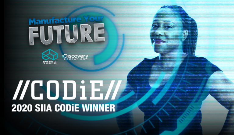Arconic Foundation and Discovery Education Receive Prestigious CODiE Award for Best STEM Instructional Solution for Grades 6-12