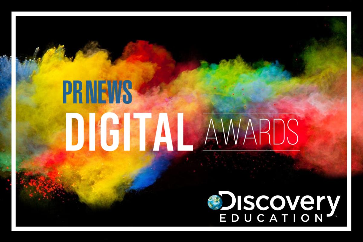 Discovery Education Corporate and Community Partnerships Receive Multiple PRNews Digital PR Awards for Excellence