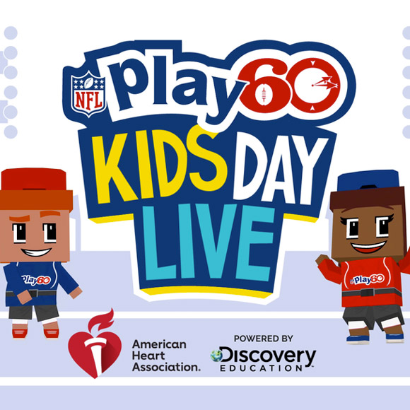 Experience Happiness: NFL Play 60 Kids Day Live 2019 Virtual Field Trip