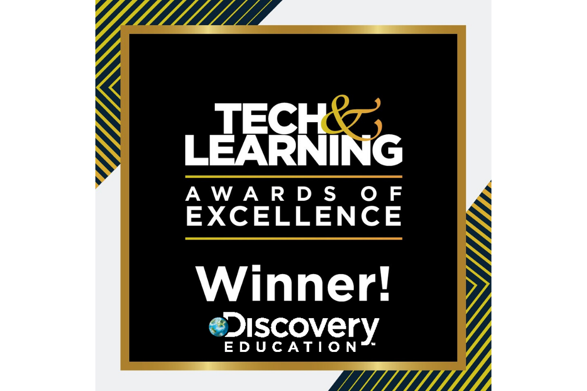 Discovery Education Experience and the Company's Corporate & Community Partnership Programs Honored with 2020 Tech & Learning Awards of Excellence