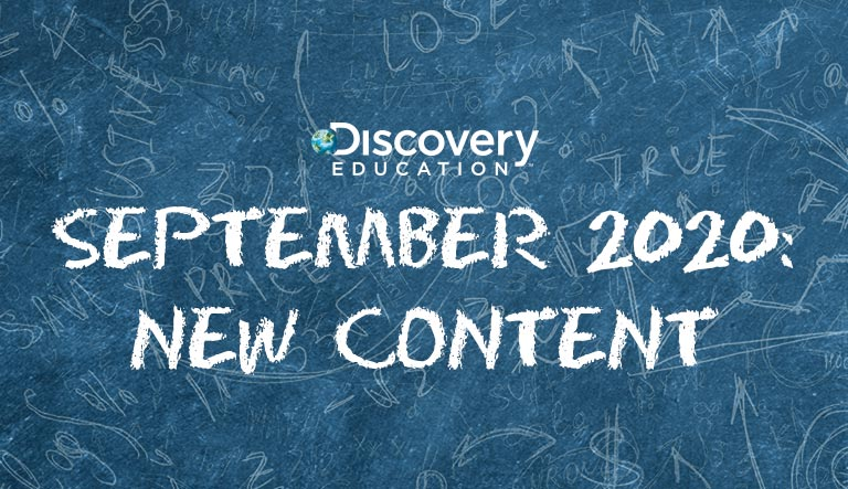 New Content Added to Discovery Education's Award-Winning Services Helps Teachers and Students Honor Hispanic Heritage Month, Explore Current Events, and Much More