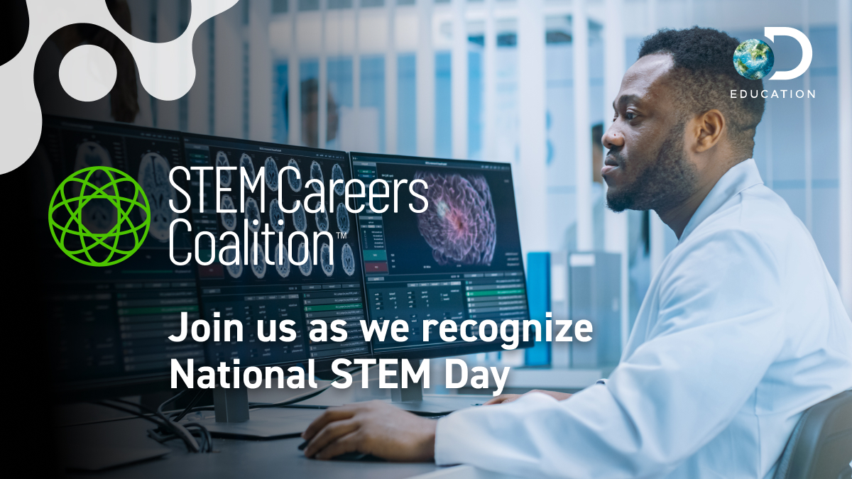 Discovery Education and Leading Corporate and Community Partners Offering Students, Teachers, and Families Access to No Cost Digital Learning Resources Supporting STEM Day Observances Nationwide