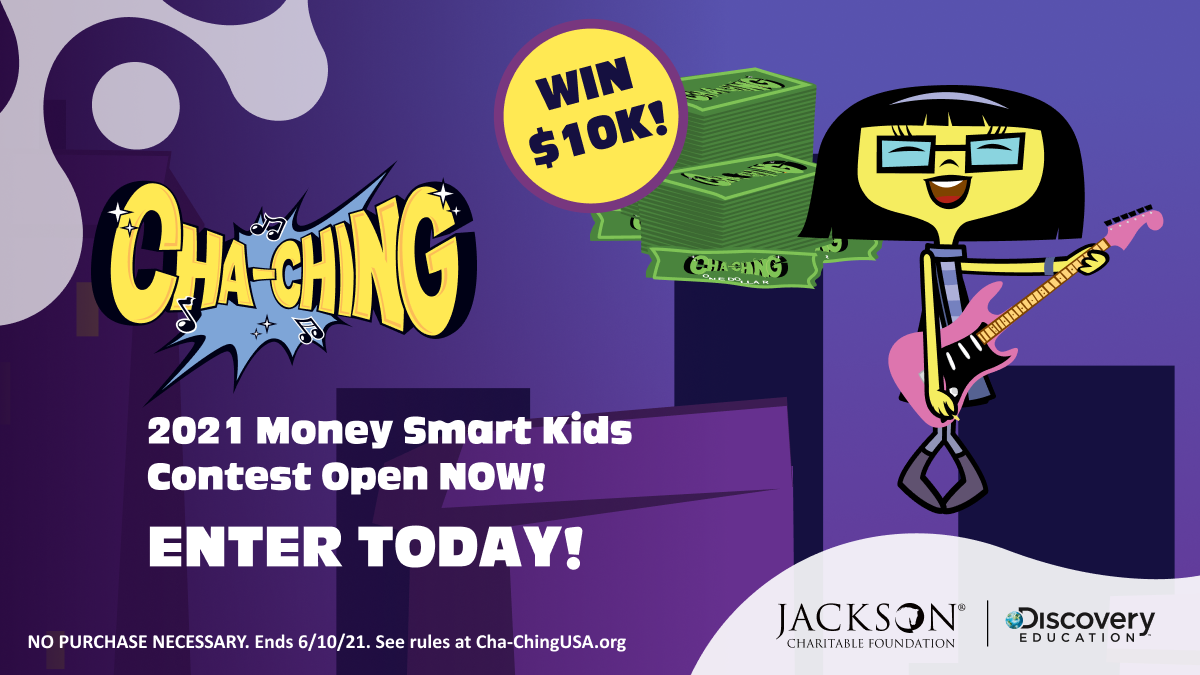Financial Literacy Challenge from Jackson Charitable Foundation and Discovery Education Inspires Community Collaboration to Win $10,000