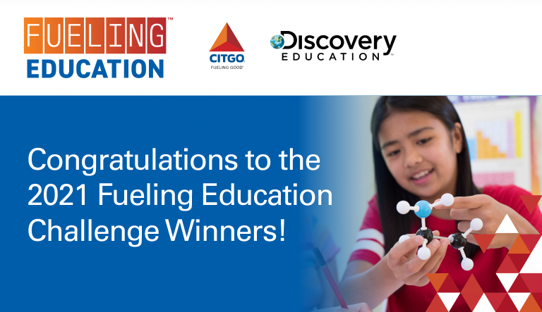 CITGO and Discovery Education Announce 2021 Fueling Education Challenge Winners