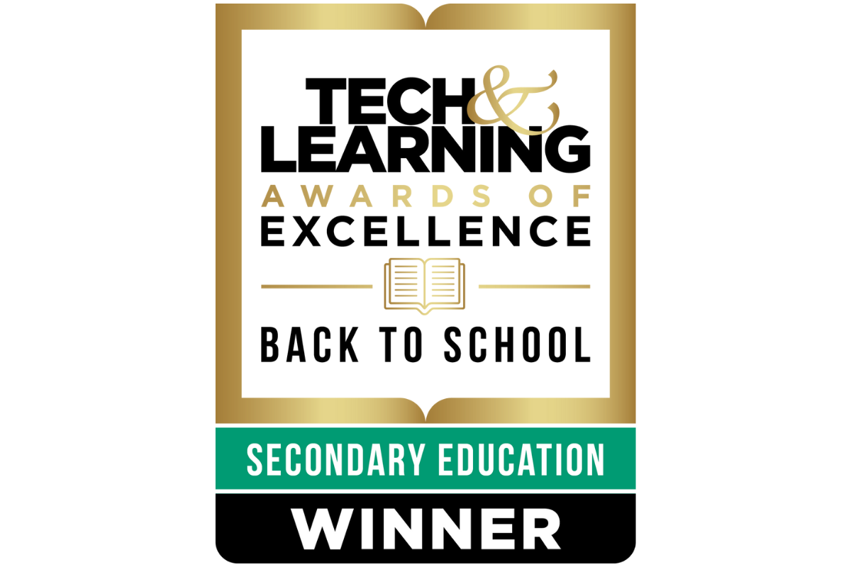 The Discovery Education K-12 Learning Platform Honored with a 2021 Tech & Learning Awards of Excellence for Back to School